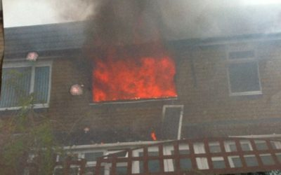 Serious fire in a rented property
